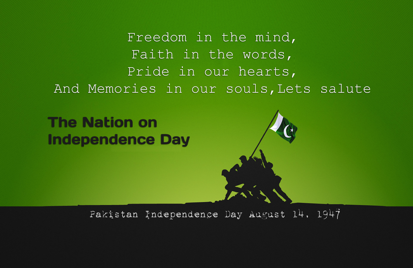 14 August Happy Pakistan Independence Day Hamza Travels